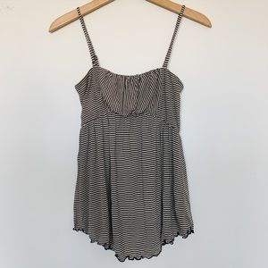 Free People Striped Soft Tank